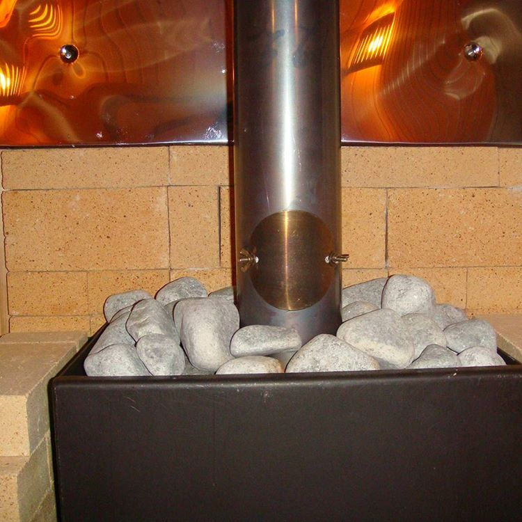 Камень жадеит в бане