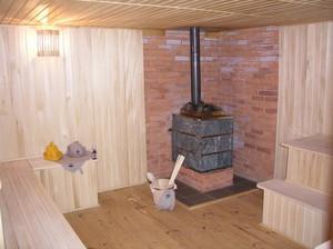 Печь в бане или сауне
